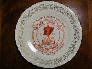 Memorial Plates of New Brunswick -