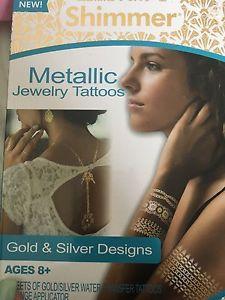 Metallic Jewerly Tattoos