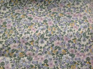 NEW KING SIZE SHEETS COTTON BLEND LOVELY FLORAL EXTRA TOP