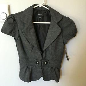 NWT Women's Short Sleeve Blazer
