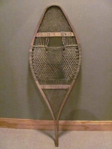 Native made snowshoes 16 x 44 inches, for display $58