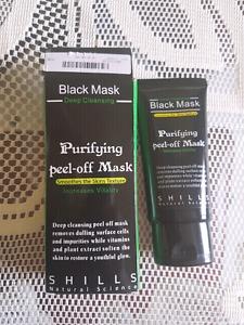 New in Box Black Shills mask