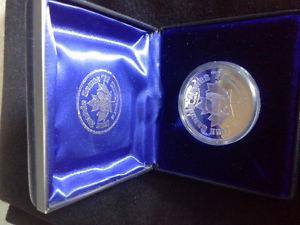 Newfoundland  Canada Games Silver Coin