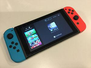 Nintendo Switch with Zelda Game