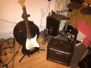 Peavy Rapter starter guitar with AMP