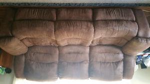 Recliner sofa and reclining chair