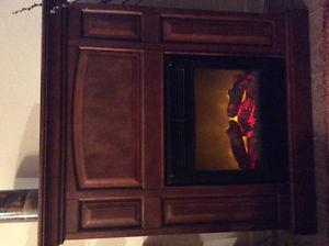 """Small Electric Fireplace..""""Sold, Pending Pickup""""...."""