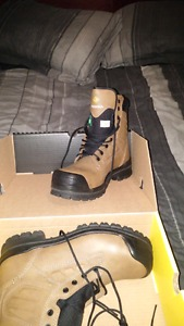 Steel Toe Terra Work Boots
