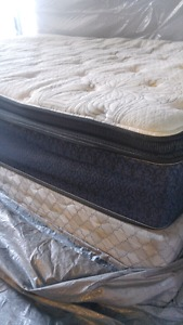 Super single mattress boxspring and frame