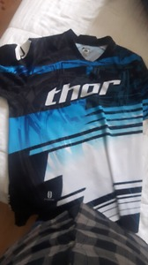 THOR dirt biking jersey