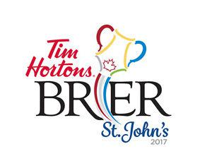 Tim Hortons Brier: 2 Tickets: Friday,March 10: 5th