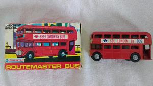 Vintage Diecast Double Decker London Bus- Excellent