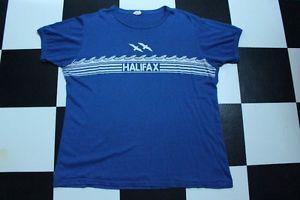 Vintage s Halifax Nova Scotia Blue Ringer Surfer