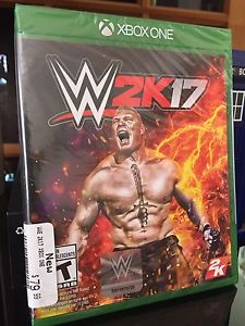 WWE 2k17 brand new in package Xbox One