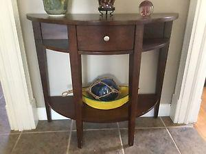Wanted: Half moon night stands/accent tables - 2 for sale