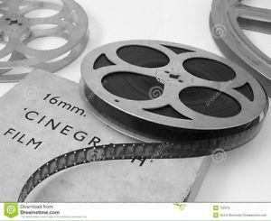 Wanted: Old 16mm film wanted.