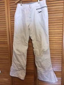 Women's Small White Columbia Snow Pants