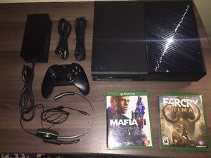 Xbox One w/ 2 Games & Headset