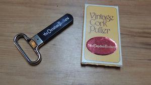 vintage wine cork puller