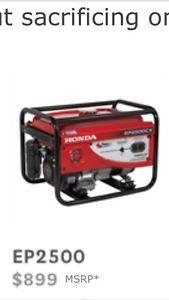 w generator Honda for sale