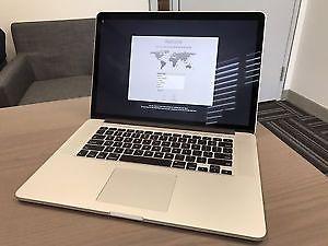 """15"""" Retina macbook pro GT650 i7/8gb/512gb flash high"""