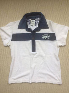 2 D&G Dolce & Gabbana Navy Polo t shirt top - 100% Authentic