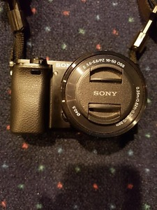 Awesome Sony Amp mirrorless camera and lens