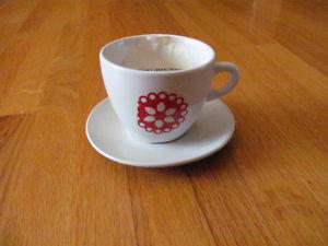 Brand New Second Cup Saucer and Cup