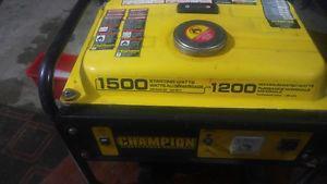 Champion  watts portable Gas Generator