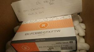 EK EVGA  FTW Waterblock (New in box/Sealed!)