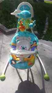 FISHER PRICE STATIONARY SWING 7/10 SHAPE $60
