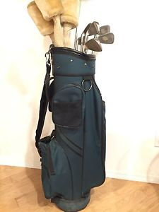 Goliath Golf Bag With a Full Set of Clubs