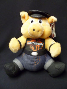 HARLEY DAVIDSON MOTORCYCLE STUFFED HOG NEW WITH TAGS