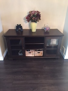 Ikea TV Stand Solid Wood
