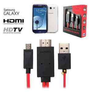 MHL HDMI Cable for Samsung Galaxy SIII S3 S4 S5 S6 S7