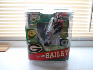 Mcfarlane NCAA Champ Bailey Georgia Bulldogs  Gold