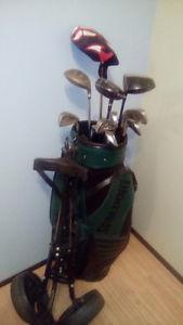 Men's right hand golf set