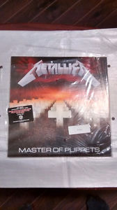 Metallica Master Of Puppets Purple Vinyl Ltd. Ed.