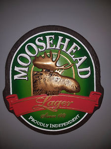 Moosehead Beer Bar/Man Cave Sign