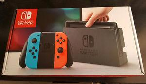 Nintendo Switch Console Neon Red/Neon Blue