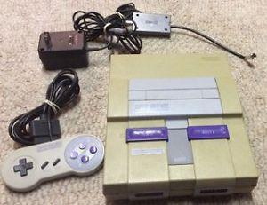 Super Nintendo with Controller and 7 Games!