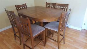 Tables à 6 chaises à vendre