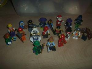 Various Lego characters....even a Santa!! All for $