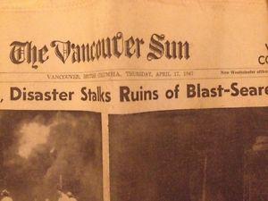 Vintage WW2 Era Newspapers