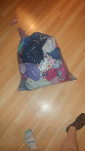 Wanted: Large bag of baby girl clothes nb -12 months