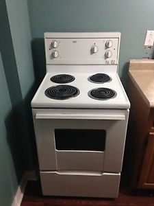 "24"" apartment size stove /oven"
