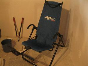 Abs Sports Chair, For getting killer abs.