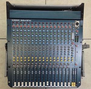 Allen and Heath WZ channel Mixer - Duo FX - 6 aux