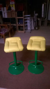 Bar Stools For Sale- Man Cave John Deere like custom bar