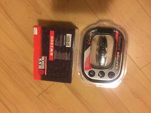 Black widow alarm system and raptor scanner